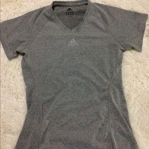 Adidas climalite T-shirt grey size M